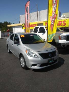 2014 Nissan Versa for sale at Speciality Auto Sales in Oakdale CA