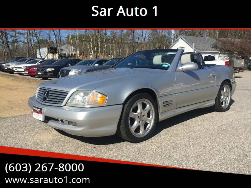 2002 Mercedes-Benz SL-Class for sale at Sar Auto 1 in Belmont NH