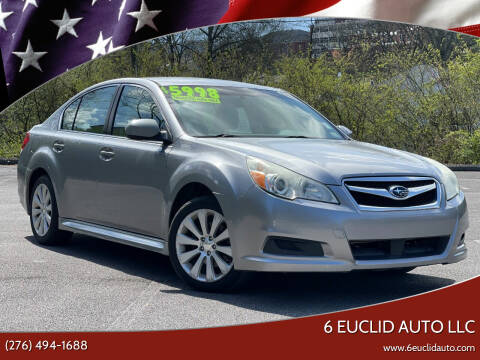 2010 Subaru Legacy for sale at 6 Euclid Auto LLC in Bristol VA