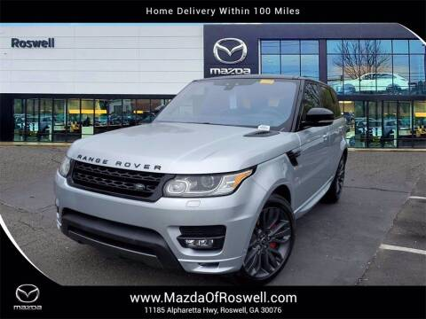 2017 Land Rover Range Rover Sport for sale at Mazda Of Roswell in Roswell GA