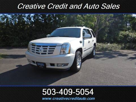 2007 Cadillac Escalade for sale at Creative Credit & Auto Sales in Salem OR