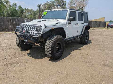 2008 Jeep Wrangler Unlimited for sale at HORSEPOWER AUTO BROKERS in Fort Collins CO