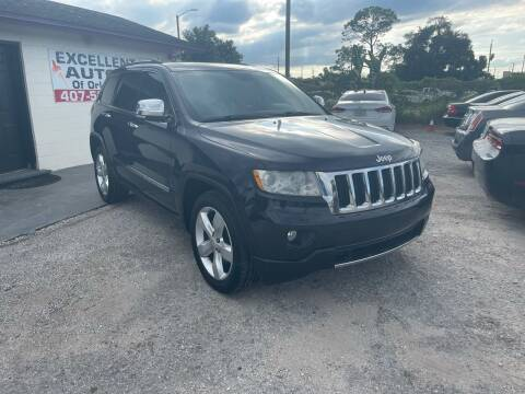 2011 Jeep Grand Cherokee for sale at Excellent Autos of Orlando in Orlando FL