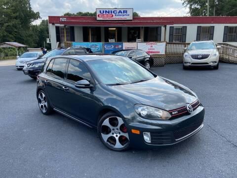 2012 Volkswagen GTI for sale at Unicar Enterprise in Lexington SC