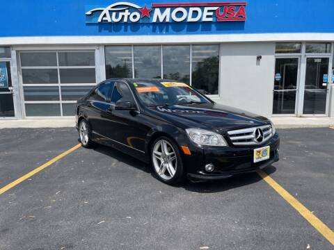 2010 Mercedes-Benz C-Class for sale at AUTO MODE USA in Burbank IL