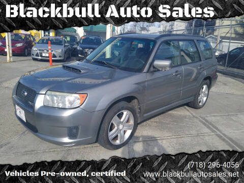 2007 Subaru Forester for sale at Blackbull Auto Sales in Ozone Park NY