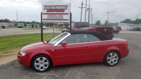 2003 Audi A4 for sale at Downing Auto Sales in Des Moines IA