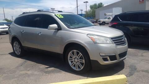2013 Chevrolet Traverse for sale at CAMEL MOTORS in Tucson AZ