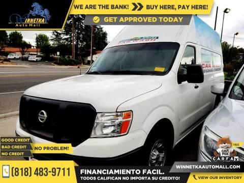 2012 Nissan NV Cargo for sale at Winnetka Auto Mall in Winnetka CA