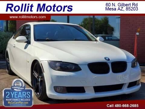 2009 BMW 3 Series for sale at Rollit Motors in Mesa AZ