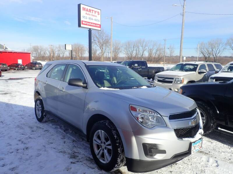 2012 Chevrolet Equinox for sale at Marty's Auto Sales in Savage MN