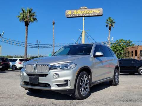 2015 BMW X5 for sale at A MOTORS SALES AND FINANCE - 10110 West Loop 1604 N in San Antonio TX