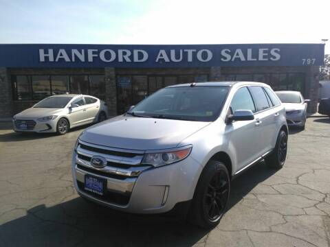 2013 Ford Edge for sale at Hanford Auto Sales in Hanford CA