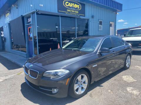 2013 BMW 5 Series for sale at CAR VIPS ORLANDO LLC in Orlando FL