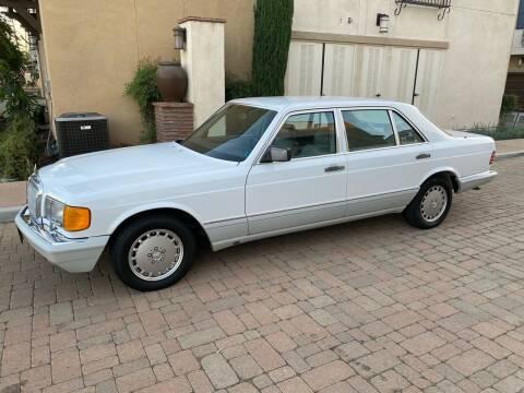 1989 Mercedes-Benz 420-Class for sale at California Motor Cars in Covina CA