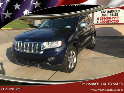 2012 Jeep Grand Cherokee for sale at Tim Harrold Auto Sales in Wilkesboro NC