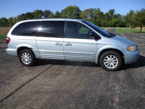 2001 Chrysler Town and Country for sale at Crossroads Used Cars Inc. in Tremont IL