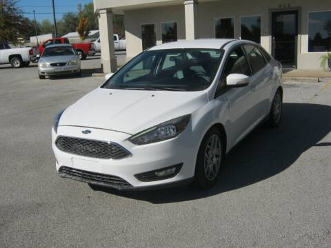 2015 Ford Focus for sale at Premier Motor Co in Springdale AR