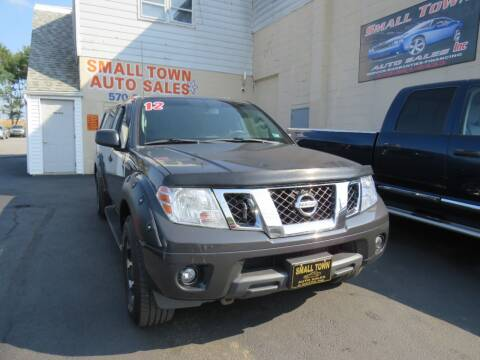 2012 Nissan Frontier for sale at Small Town Auto Sales in Hazleton PA