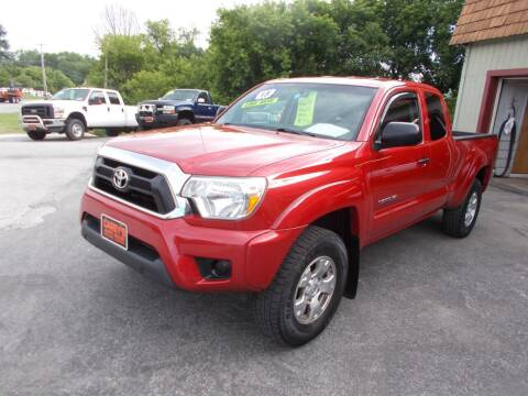 2015 Toyota Tacoma for sale at Careys Auto Sales in Rutland VT