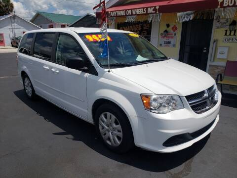 2017 Dodge Grand Caravan for sale at ANYTHING ON WHEELS INC in Deland FL