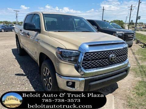 2020 Toyota Tundra for sale at BELOIT AUTO & TRUCK PLAZA INC in Beloit KS