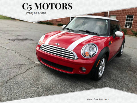 2008 MINI Cooper for sale at C5 Motors in Marietta GA