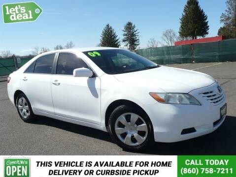 2009 Toyota Camry for sale at Shamrock Motors in East Windsor CT