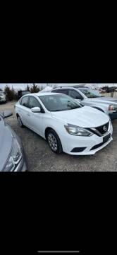 2016 Nissan Sentra for sale at CANDOR INC in Toms River NJ
