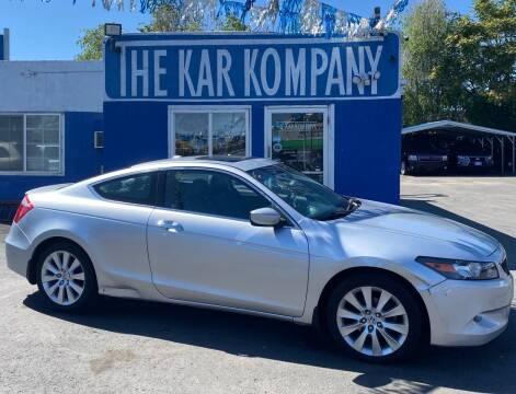 2008 Honda Accord for sale at The Kar Kompany Inc. in Denver CO