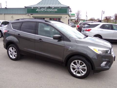 2018 Ford Escape for sale at Jim O'Connor Select Auto in Oconomowoc WI