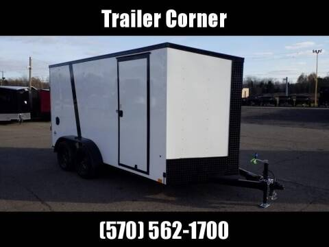 Look Trailers STLC 7X14 EXT HEIGHT - BLACKED