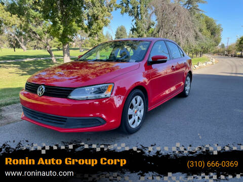 2012 Volkswagen Jetta for sale at Ronin Auto Group Corp in Sun Valley CA