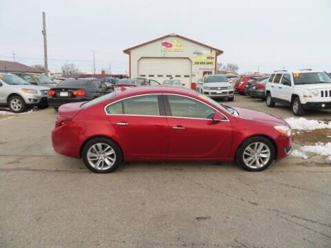2014 Buick Regal for sale at Jefferson St Motors in Waterloo IA
