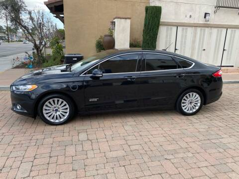 2014 Ford Fusion Energi for sale at California Motor Cars in Covina CA