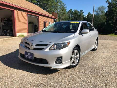 2011 Toyota Corolla for sale at Hornes Auto Sales LLC in Epping NH