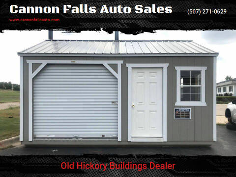 2020 Old Hickory Buildings Utility Shed 14x18  for sale at Cannon Falls Auto Sales in Cannon Falls MN