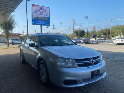 2011 Dodge Avenger for sale at Magic Auto Sales - Cars for Cash in Dallas TX