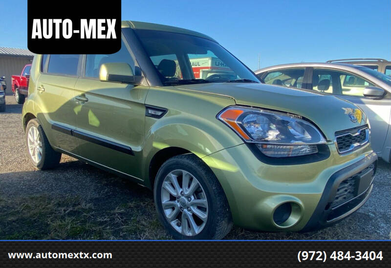 2013 Kia Soul for sale at AUTO-MEX in Caddo Mills TX