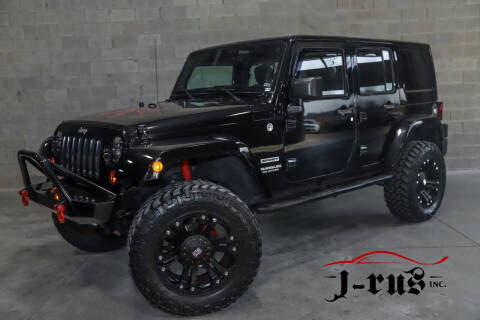 2012 Jeep Wrangler Unlimited for sale at J-Rus Inc. in Macomb MI