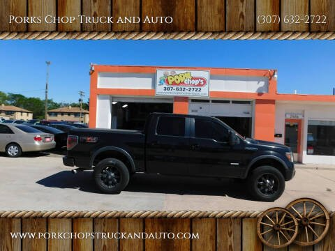 2011 Ford F-150 for sale at Porks Chop Truck and Auto in Cheyenne WY