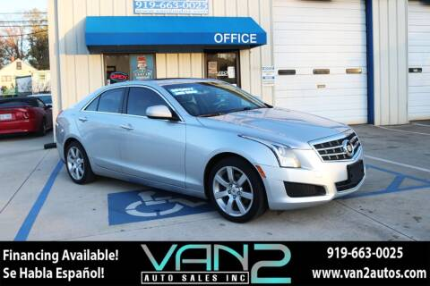 2014 Cadillac ATS for sale at Van 2 Auto Sales Inc in Siler City NC