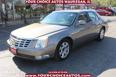 2006 Cadillac DTS for sale at Your Choice Autos - Waukegan in Waukegan IL