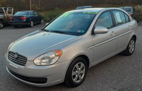 2009 Hyundai Accent for sale at Bik's Auto Sales in Camp Hill PA