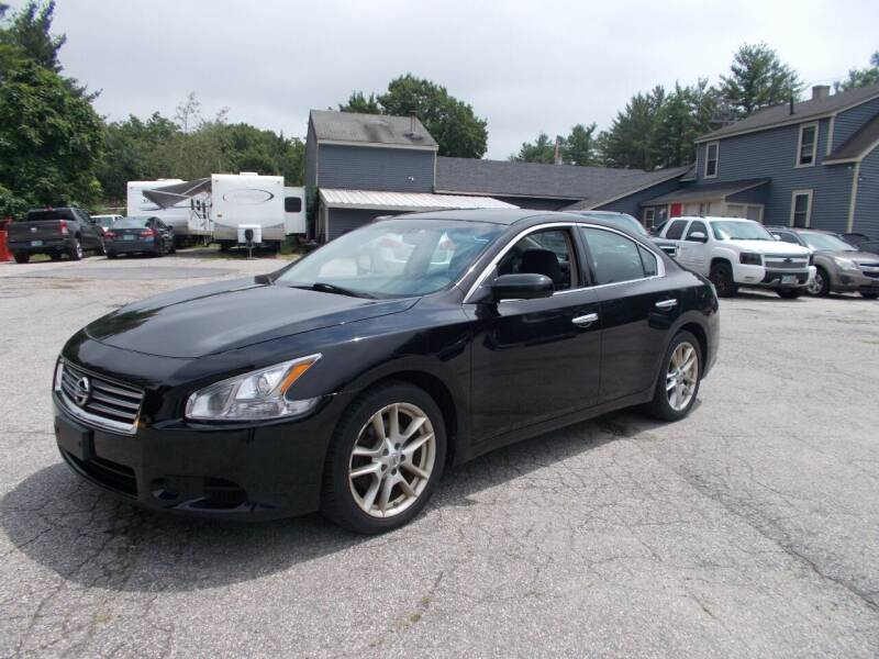 2014 Nissan Maxima for sale at Manchester Motorsports in Goffstown NH