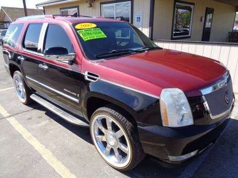2007 Cadillac Escalade for sale at BBL Auto Sales in Yakima WA