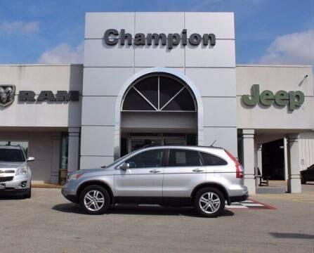 2010 Honda CR-V for sale at Champion Chevrolet in Athens AL