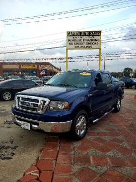 2008 Ford F-150 for sale at CAPITOL AUTO SALES LLC in Baton Rouge LA