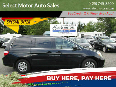 2007 Honda Odyssey for sale at Select Motor Auto Sales in Lynnwood WA