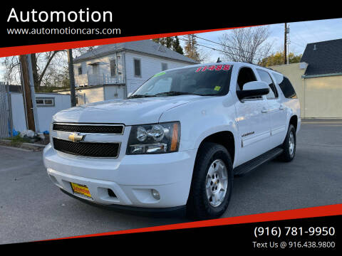 2009 Chevrolet Suburban for sale at Automotion in Roseville CA